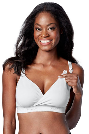 Bravado Original Nursing Bra - Plus (White) by Bravado