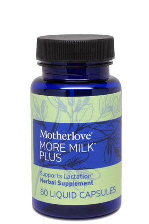 Motherlove More Milk Plus (60 Capsules) by Motherlove