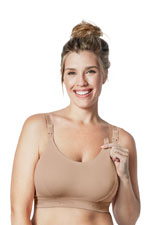 Bravado Original Nursing Bra - Double Plus (Butterscotch) by Bravado