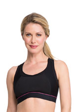 La Leche League Sports Nursing Bra (Black) by La Leche League International