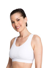 La Leche League Sports Nursing Bra (White) by La Leche League International