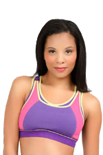 La Leche League Sports Nursing Bra (Purple) by La Leche League International