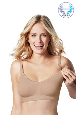 Bravado Body Silk Seamless Nursing Bra (Butterscotch) by Bravado