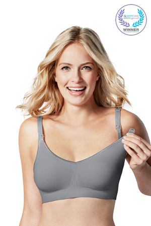 Bravado Body Silk Seamless Nursing Bra (Silver Belle) by Bravado