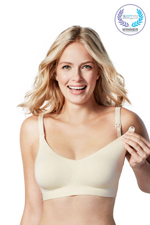 Bravado Body Silk Seamless Nursing Bra (Ivory) by Bravado