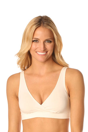 Majamas Organic Easy Bra (Ivory) by Majamas