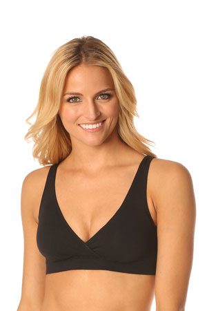 Majamas Organic Easy Bra (Black) by Majamas