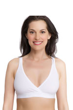 La Leche League Sleep Bra (White) by La Leche League International