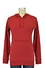 Boob B-Warmer Organic Knitted Nursing Hoodie (Cranberry Red) by Boob