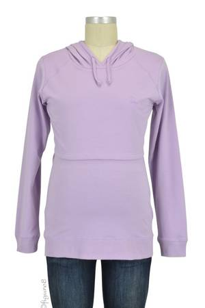 Boob Design B-Warmer Organic Knitted Nursing Hoodie (Mauve) by Boob Design