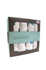 Australian Muslin Swaddling Wraps - 4 Pack (Dino-Mite) by Aden & Anais