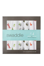 Australian Muslin Swaddling Wraps - 4 Pack (Mod About Baby) by Aden & Anais