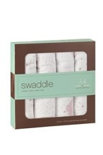 Australian Muslin Swaddling Wraps - 4 Pack (Lovely) by Aden & Anais