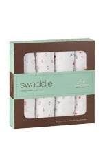 Australian Muslin Swaddling Wraps - 4 Pack (Make Believe) by Aden & Anais