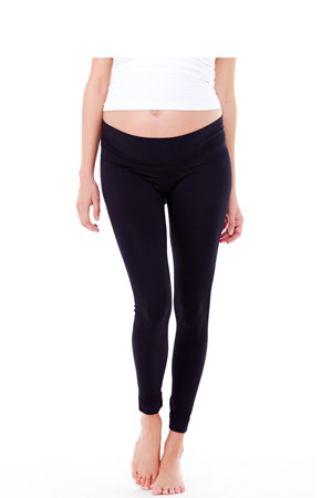 Ingrid & Isabel Belly Leggings (Black) by Ingrid & Isabel