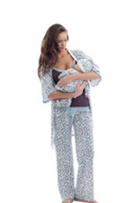 Olian 5 Piece Nursing PJ Set with Baby Outfit by Olian