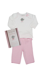 Little Peanut Baby Girl Gift Set by B Amici