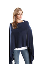 Madison Nursing Scarf (Fall & Winter Weight) (Navy) by Maternal America