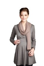 Madison Nursing Scarf (Fall & Winter Weight) (Mocha) by Maternal America
