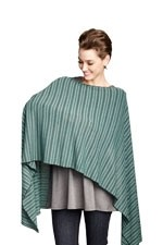 Madison Nursing Scarf (Fall & Winter Weight) (Mojito Stripes) by Maternal America