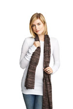Madison Nursing Scarf (Fall & Winter Weight) (Blush Space Dye) by Maternal America