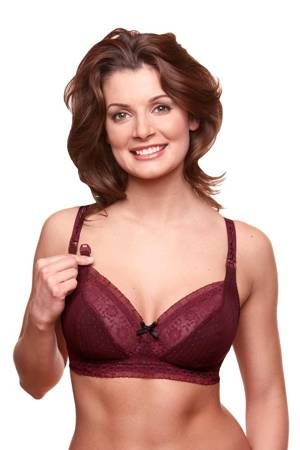 Bravado Sublime Nursing Bra (Black Cherry) by Bravado
