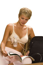 La Leche Soft Contour Hands Free Pump Nursing Bra by La Leche League International