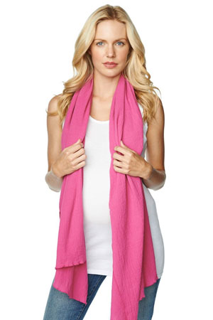Madison Nursing Scarf (Summer Weight) (Orchid) by Maternal America