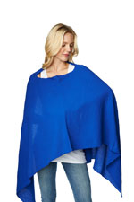 Madison Nursing Scarf (Summer Weight) (Royal Blue) by Maternal America