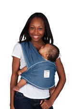 Baby K'tan Baby Carrier (Denim) by Baby K'tan