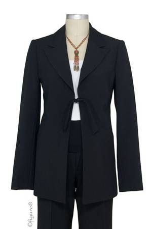 Jules & Jim Perfect Maternity Blazer (Black) by Jules & Jim