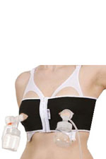PumpEase Hands-Free Pumping Support Bra (Tuxedo) by PumpEase
