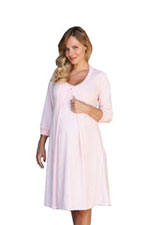 3/4 Sleeve Organic Nursing Hospital Gown by 1 in the Oven