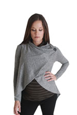 Nuka Maternity & Nursing Draped Cardigan by Nuka