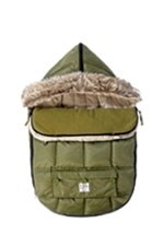7 AM Enfant Le Sac Igloo Baby Stroller Cover (Army) by 7 A.M. Enfant