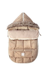 7 AM Enfant Le Sac Igloo Baby Stroller Cover (Beige) by 7 A.M. Enfant