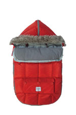 7 AM Enfant Le Sac Igloo Baby Stroller Cover (Red) by 7 A.M. Enfant