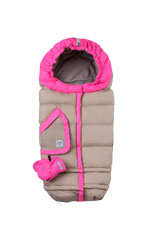 7 AM Enfant Blanket 212 Evolution (Beige/Neon Pink) by 7 A.M. Enfant