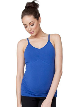 Ripe Ultimate Express Nursing Tank (Sapphire) by Ripe Maternity