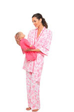 Olian 4-Piece Nursing PJ Set by Olian