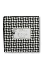 Swaddle Designs Ultimate Receiving Blanket (Black Puppytooth) by SwaddleDesigns