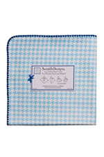 Swaddle Designs Ultimate Receiving Blanket (Blue Puppytooth) by SwaddleDesigns