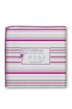 Swaddle Designs Ultimate Receiving Blanket (Very Berry Stripes) by SwaddleDesigns