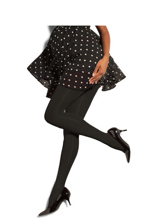 Preggers Maternity Compression Tights (Black) by Preggers Maternity Hosiery
