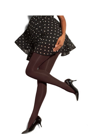 Preggers  Maternity Compression Tights (Cocoa) by Preggers Maternity Hosiery