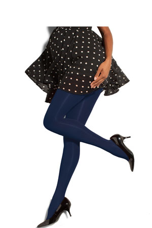 Preggers Maternity Compression Tights (10-15 mmHg) (Navy) by Preggers Maternity Hosiery