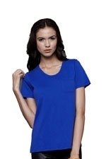 Irene Pocket Nursing Tee (Electric Blue) by Dote