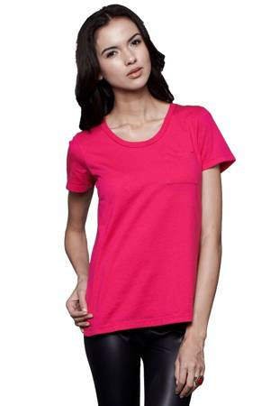 Irene Pocket Nursing Tee (Fuchsia) by Dote