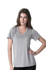 Irene Pocket Nursing Tee (Heather Grey) by Dote