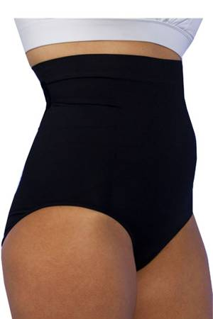 MS-Panty High Waist Postpartum Recovery & Slimming Underwear (Black) by C-Panty